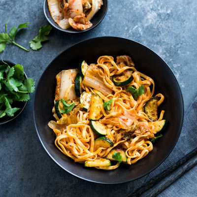 Sweet and Spicy Korean Noodles